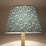 Craftter Traditional KERI DESIGN GREEN Colour FABRIC FLOOR Lamp Shade (CWFLS-25)