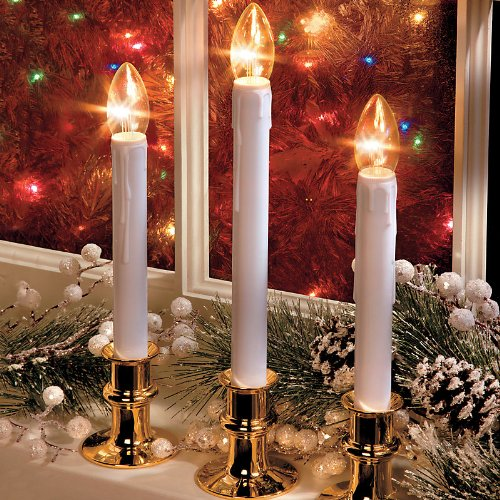 Adjustable Battery-Operated Window Candles-Set Of 2 - Improvements