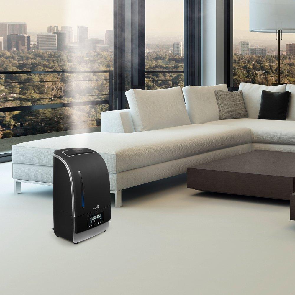 Warm Amp Cool Mist Humidifier With Led Display Taotronics