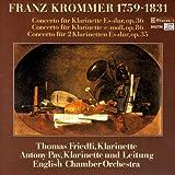 Franz Krommer: Clarinet Concertos