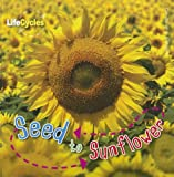 Camilla de La Bedoyere Seed to Sunflower (Life Cycles (QEB Publishing))