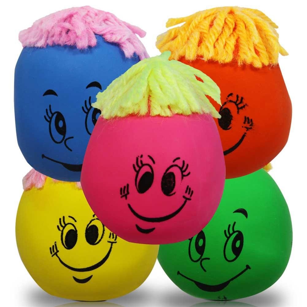 384 x Streßbälle Streßball Knautschball Stressball 7 cm günstig online kaufen