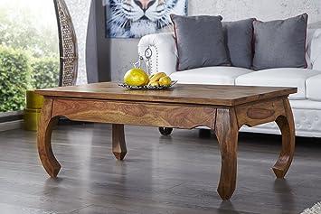 Opium - Originale tavolino da salotto in legno massello di palissandro, 115 cm