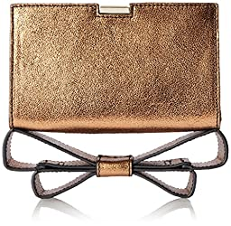 Zac Zac Posen Milla Clutch, Copper, One Size