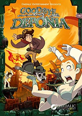 Goodbye Deponia Premium Edition Online Game Code by Daedalic Entertainment