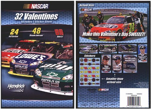 NASCAR Valentines - 1