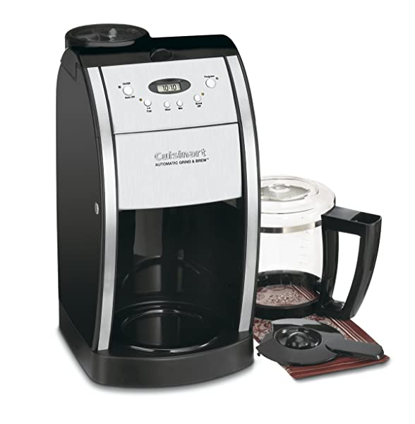 Cuisinart DGB-550BK 12 Cup Automatic Coffeemaker Grind Via Amazon