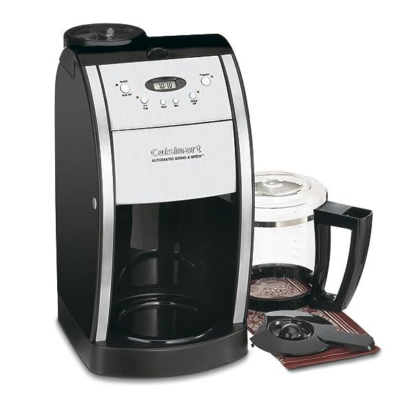 Cuisinart DGB-550BK 12 Cup Automatic Coffeemaker Grind Via Amazon