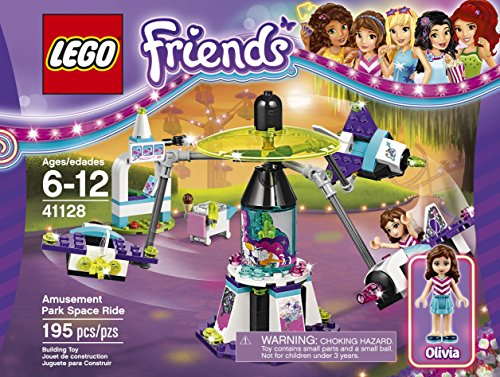 LEGO Friends 41128 Amusement Park Space Ride Building Kit (195 Piece) JungleDealsBlog.com