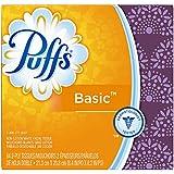 Puffs Basic Tissues; 1 Cube; 64 Tissues per Box (Pack of 24)