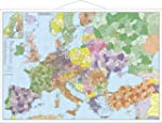 Europa mit T�rkei - Stra�en und Postl...
