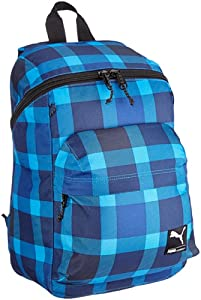Puma Foundation Backpack Rucksack 45 Cm, brilliant blue-mazarine blue-check
