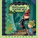 Araminta Spookie, Books 3 & 4: Frognapped & Vampire Brat (       UNABRIDGED) by Angie Sage Narrated by Katherine Kellgren