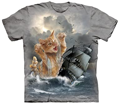 Unleash the Kitten - The Mountain Men's Krakitten Long Sleeve T-Shirt gadget-geek.de