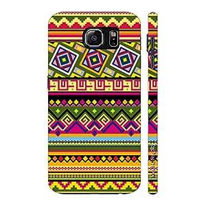 Enthopia Designer Hardshell Case Aztec Vibrance Back Cover for Samsung Galaxy Note 6