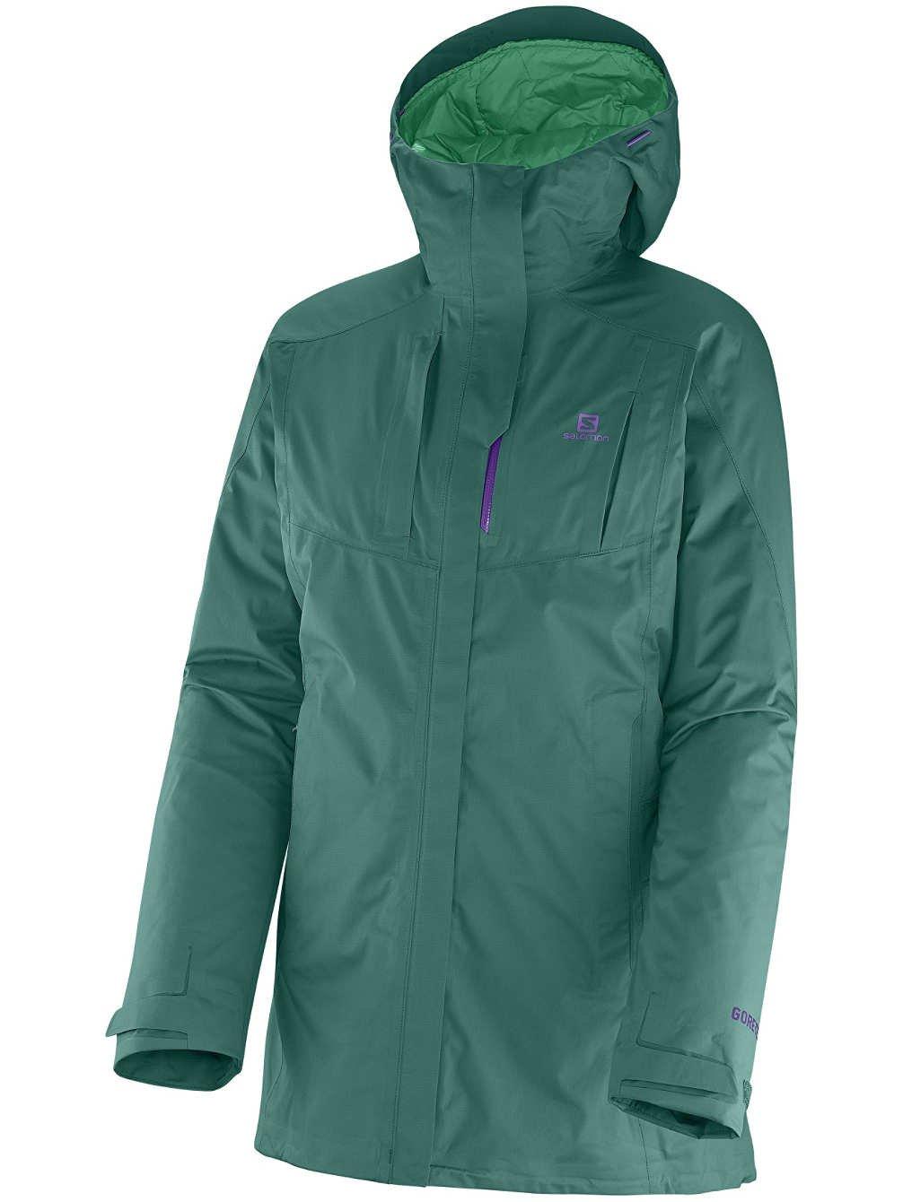 Damen Snowboard Jacke Salomon Cyclone Jacket günstig online kaufen