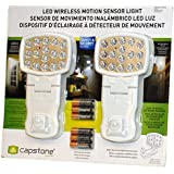 Capstone LED Wireless Motion Sensor Light, 2 Pack, White