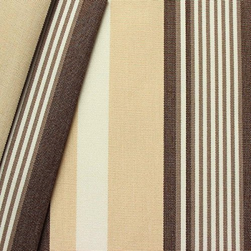 Markisen outdoor stoff breite 160cm streifen braun beige Markisen online kaufen