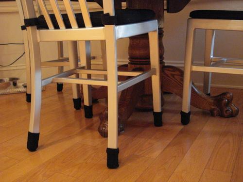 Small/Black- Furniture Leg Floor Protectors