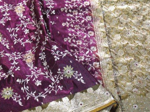 Purple Bollywood Designer Latest Saree Dress Fashion