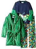 Bunz Kids Little Boys' 3 Piece Boys Monster Robe and Pajamas Sets