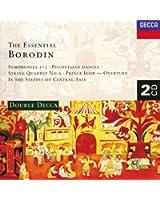 Borodine : Les Trois symphonies / Dans les steppes de l'Asie Centrale / Quatuor N°2 (Coffret 2 CD)