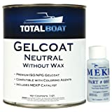 TotalBoat Gelcoat (Neutral, Quart No Wax) (Color: Neutral, Tamaño: Quart No Wax)
