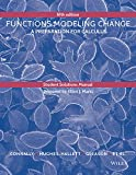 Student Solutions Manual to accompany Functions Modeling Change