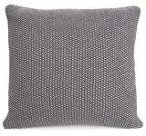 merben international Cotton Pillow Cover, 20 x 20 , Grey