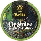 Cafe Britt Costa Rican Organic Coffee Single Serve Cups, 0.39 Ounce