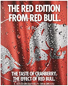 Red Bull the Red Edition Energy Drink, 2.50 Pound (Pack of 6)