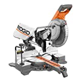 Ridgid R4210 15 Amp 10 Inch Corded Dual Bevel Sliding Miter Saw with 70° Miter Capacity