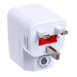 Walkabout Universal Adapter with USB by Walkabout Travel Gear
