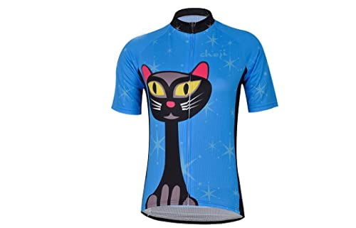 They kind of remind me of the Siamese cats from Lady and The Tramp.  Probably the best example of a straight cat cycling jersey you ll find. c233f35c9