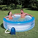 Relax Bubble Whirlpool 196 x 53 cm mit Pumpe Bestway Pool