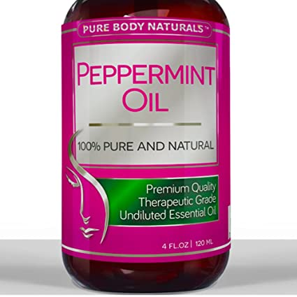Best Peppermint Oil ★ LARGE 4 Oz ★ 100% Pure & Natural Essential Oil for Aromatherapy & Many Household Purposes • THERAPEUTIC Grade PREMIUM QUALITY with Health Benefits Including - Quick Relief from Stress, Migraines, Headaches & Anxiety • Helps Treats Indigestion, Nausea, Diarrhea, Heartburn, IBS and More • Delivers Fresh Minty Scent & Aroma For House, Home & Office - Also Serves as great repellent to SPIDERS, MICE, FLEAS & ANTS • WORKS OR YOUR MONEY BACK - Buy With Complete Confidence Now! Perfect Gift for Men & Women.