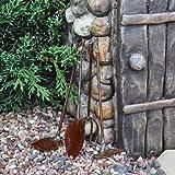 Tiny Garden Tools, Rustic (Set of 4)