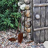 Tiny Garden Tools, Rustic (Set of 4)