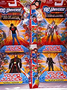 DC Universe Young Justice 11cm Action Figures Collection Lot