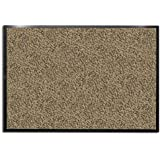 "casa pura® Dirt Trapper Entrance Mat, Beige/Black, (24"" x 36"") Multiple Sizes 