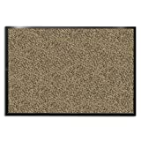 casa pura® Dirt Trapper Entrance Mat, Beige/Black, (24