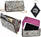 Safari |Urban|Carrying case / Wallet phone cover Fits RadioShack Alcatel Authority + NuVur ™ Keychain