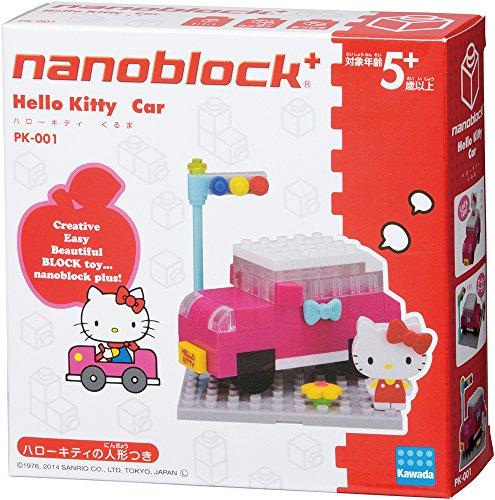 ナノブロックプラス ハローキティ くるま PK-001 - 1