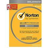 Norton Security Premium - 10 Device [Key Card]