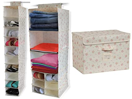 Canvas Clothing Storage Box Clothes/show/storage Box