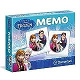 Disney Frozen - Niños Juguete - juego de Memo compacto Clementoni