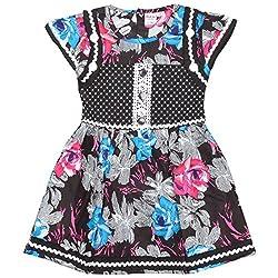 Rush Me Baby Girls' Dress (S.R.2013_2 Years, 2 Years, Rani)