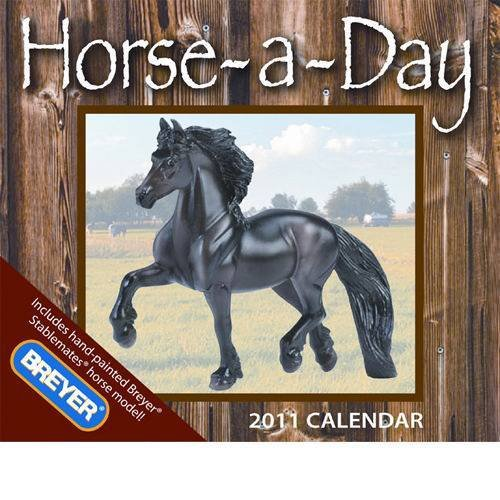 Horse-A-Day with Toy 2011 Boxed Calendar
