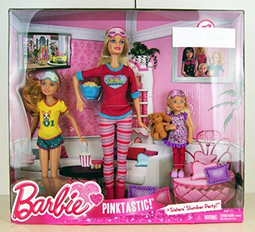 Barbie Pink Tastic Sisters Slumber 223952188