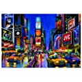 Educa - 13047 - Puzzle Adulte Neon 1000 pi�ces - Times Square, New York